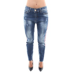 Textiel Dames Straight jeans Revise Blue Vibes FRD0131D Blue Denim