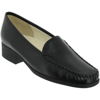 Schoenen Dames Mocassins Marco BOSLER Zwart leer