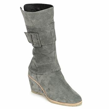 Schoenen Dames Enkellaarzen Regard RUBANO Grijs