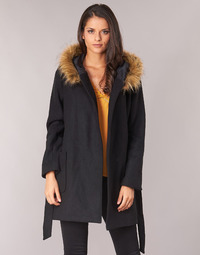 Textiel Dames Mantel jassen Betty London JORREY Zwart