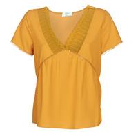Textiel Dames Tops / Blousjes Betty London JOCKY Geel