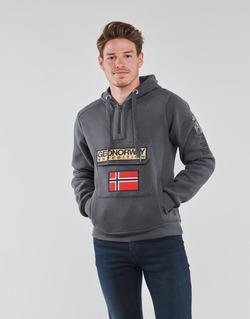 Textiel Heren Sweaters / Sweatshirts Geographical Norway GYMCLASS Grijs