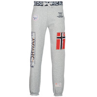 Textiel Heren Trainingsbroeken Geographical Norway MYER Grijs