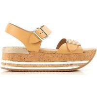 Schoenen Dames Sandalen / Open schoenen Hogan HXW3540AA40D0WC611 beige