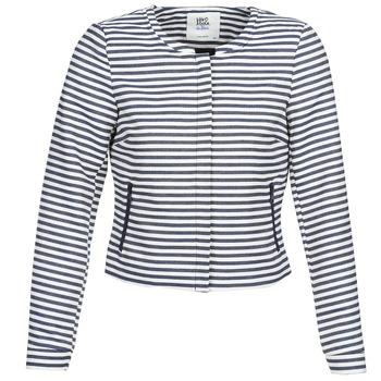 Textiel Dames Jasjes / Blazers Vero Moda MALTA Marine / Wit