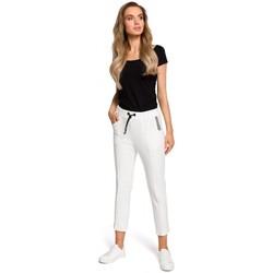 Textiel Dames Sweaters / Sweatshirts Moe M411 7/8 Joggers - ecru