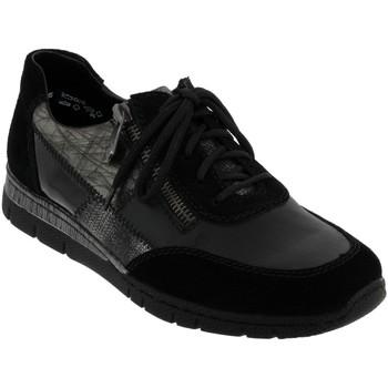 Schoenen Dames Klassiek Rieker N5320 Zwart leer