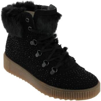 Schoenen Dames Laarzen Rieker K7975 Zwart