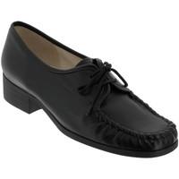 Schoenen Dames Derby Marco NOBLA Zwart leer