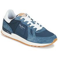 Schoenen Heren Lage sneakers Pepe jeans TINKER PRO Blauw