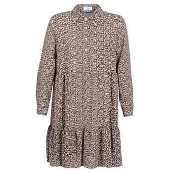 Textiel Dames Korte jurken Betty London JECREHOU Beige / Bruin