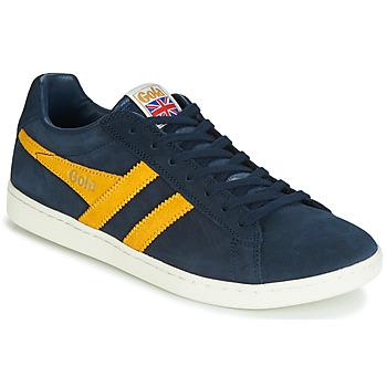 Schoenen Heren Lage sneakers Gola EQUIPE SUEDE Blauw / Geel