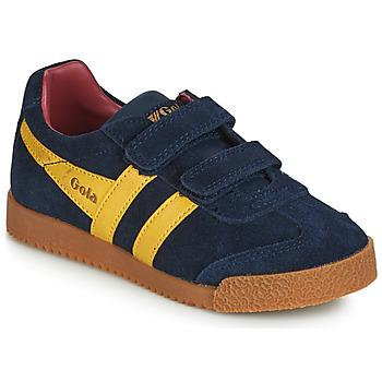 Schoenen Kinderen Lage sneakers Gola HARRIER VELCRO Blauw