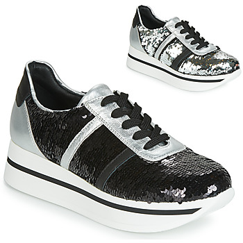Schoenen Dames Lage sneakers Tosca Blu ANDREA Zwart