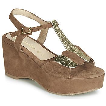 Schoenen Dames Sandalen / Open schoenen Lola Espeleta NAWELLE Bruin