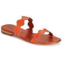 Schoenen Dames Sandalen / Open schoenen Melvin & Hamilton HANNA 46 Oranje