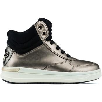 Schoenen Kinderen Hoge sneakers Geox Jr Aveup Girl enkellaarzen GOLD