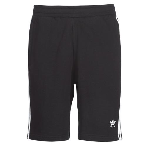 Textiel Heren Korte broeken / Bermuda's adidas Originals 3 STRIPE SHORT Zwart