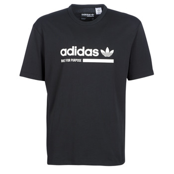Textiel Heren T-shirts korte mouwen adidas Originals SNAPI Zwart