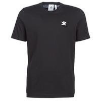 Textiel Heren T-shirts korte mouwen adidas Originals ESSENTIAL T Zwart