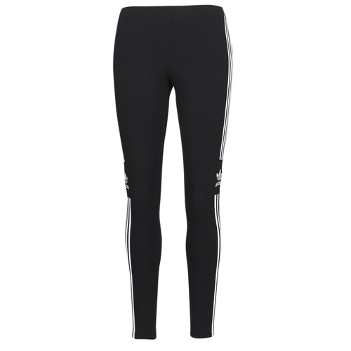 Textiel Dames Leggings adidas Originals TREFOIL TIGHT Zwart