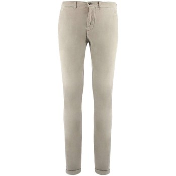 Textiel Heren Chino's Harmont & Blaine CHINOS NARROW Broek Mens Grijs Grijs