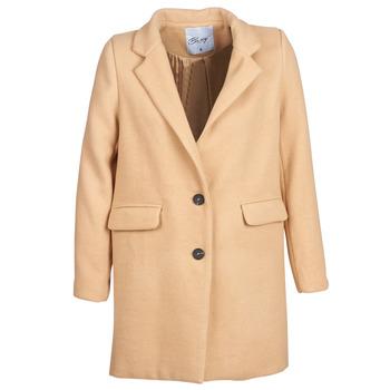 Textiel Dames Mantel jassen Betty London JRUDON Beige