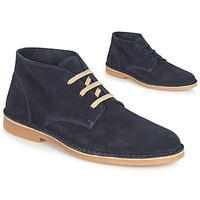 Schoenen Heren Laarzen Selected ROYCE DESERT LIGHT SUEDE Marine