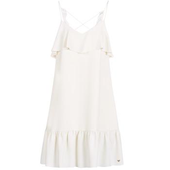 Textiel Dames Korte jurken Les Petites Bombes AZITARBE Wit
