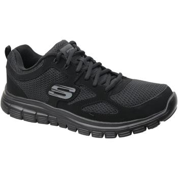 Schoenen Heren Lage sneakers Skechers Burns Noir