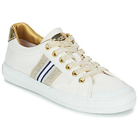 Schoenen Dames Lage sneakers Replay EXTRA Wit / Goud