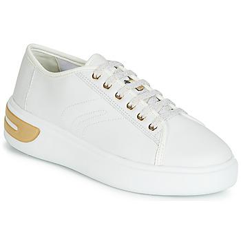 Schoenen Dames Lage sneakers Geox D OTTAYA Wit
