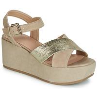 Schoenen Dames Sandalen / Open schoenen Geox D ZERFIE Goud / Taupe
