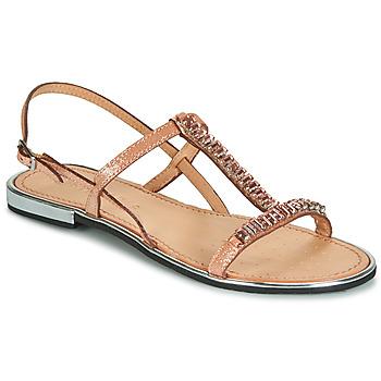 Schoenen Dames Sandalen / Open schoenen Geox D SOZY PLUS Brons
