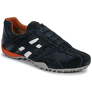 Schoenen Heren Lage sneakers Geox UOMO SNAKE Blauw / Zwart