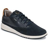 Schoenen Heren Lage sneakers Geox U AERANTIS Marine