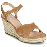 Schoenen Dames Sandalen / Open schoenen Geox D SOLEIL Camel