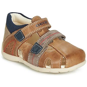 Schoenen Jongens Sandalen / Open schoenen Geox B KAYTAN Bruin