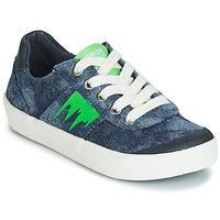 Schoenen Jongens Lage sneakers Geox J KILWI BOY Blauw / Groen