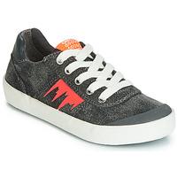Schoenen Jongens Lage sneakers Geox J KILWI BOY Grijs / Oranje