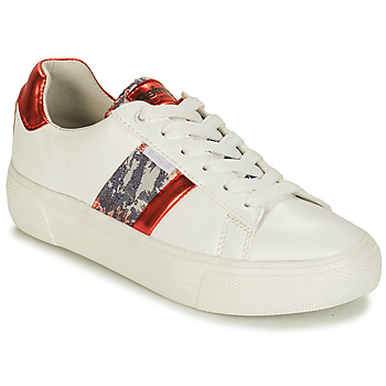 Schoenen Dames Lage sneakers Refresh 69954 Wit / Rood