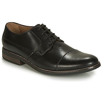 Schoenen Heren Derby Clarks Becken Cap Zwart