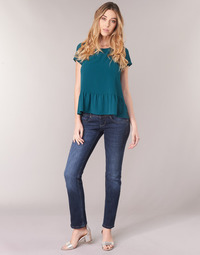 Textiel Dames Straight jeans Freeman T.Porter Cathya SDM Blauw / Donker
