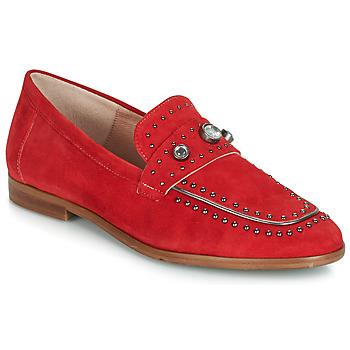 Schoenen Dames Mocassins Dorking 7782 Rood