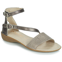Schoenen Dames Sandalen / Open schoenen Dorking 7863 Grijs