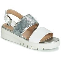 Schoenen Dames Sandalen / Open schoenen Geox WIMBLEY SAND Wit