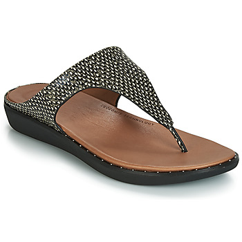 Schoenen Dames Sandalen / Open schoenen FitFlop BANDA II DOTTED-SNAKE Naturel / Slang
