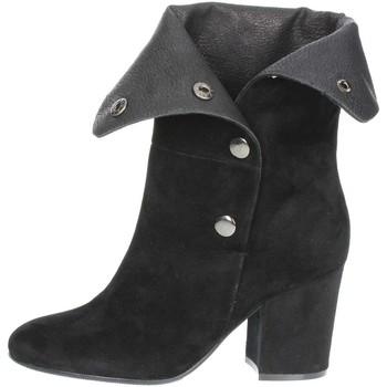 Schoenen Dames Enkellaarzen Luciano Barachini BB245A Black