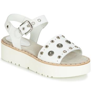 Schoenen Dames Sandalen / Open schoenen Fru.it 5435-476 Wit