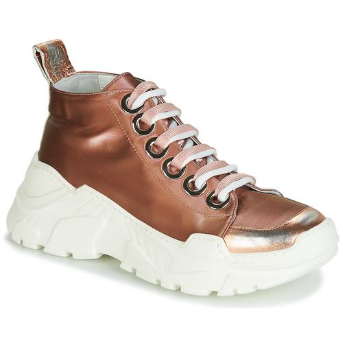 Schoenen Dames Lage sneakers Fru.it 5390-850 Brons